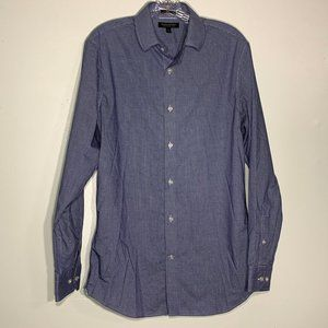 3/20 Sale Banana Republic Check Slim Fit Button Up